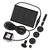 docooler Solar Power Panel Kit Water Pump for Garden Pond Fountain Pool