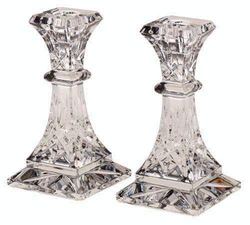 Stkertools(TM) Waterford Crystal Lismore 6-Inch Candlestick Holders, Set of 2