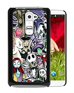 2015 Latest Nightmare Before Christmas Black Special Custom Made LG G2 Cover Case