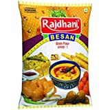 Rajdhani Besan Flour Chickpea Gram Flour Pulse Flour Bengal Gram 2 kg Packing DHL Shipping Faster delivery Healthy Multi purpose
