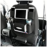 Best Car Seat Protectors Leather Seats - PU Leather Kick Mats Waterproof Car Seat Back Review