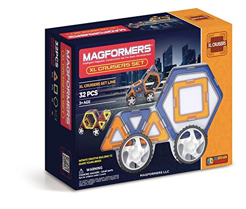 Magformers Cruisers 32 pieces colors vary