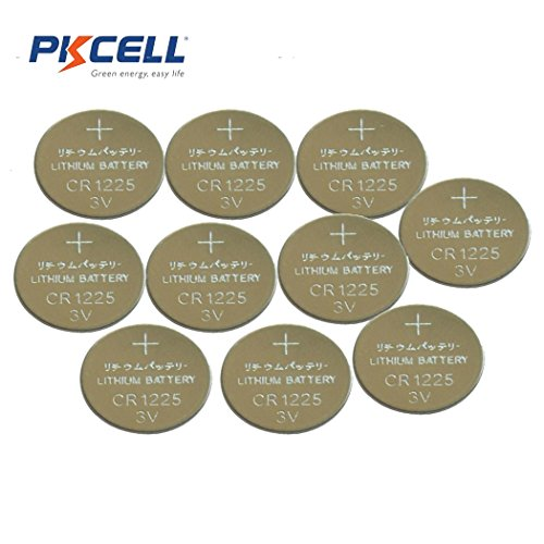 CR1225 DL1225 3V Coin Cell Lithium Batteries for Thermometer (10pc)