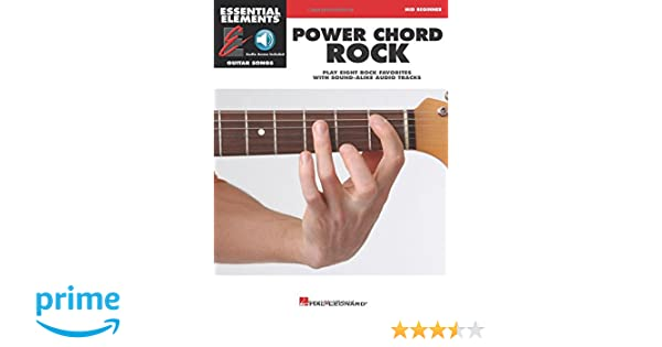 Amazon Power Chord Rock Essential Elements Guitar Songs Mid