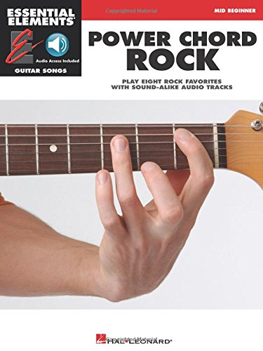 Power Chord Rock: Mid Beginner With CD Audio Essential Elements ...