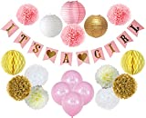 Baby Shower Decorations For Girl – Its A Girl Party Decor...
