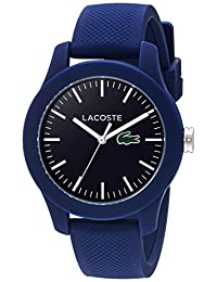Lacoste Women's 12.12-Feet Quartz Resin and Silicone Automatic Watch, Color: Blue (Model: 2000955)