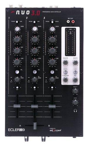 Ecler NUO 3.0 - 3 Channel DJ - Mixers Dj Ecler