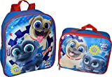 Disney Junior Puppy Dog Pals 12'' Backpack With Matching Lunch Box