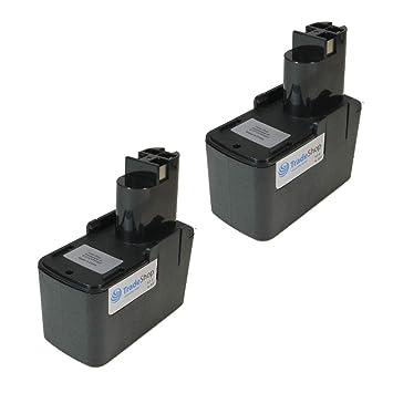 2x Batterie 9,6v 2000mah pour würth ABS 96m2 ABS 96m-2 AAS 96 M AAS 96-m