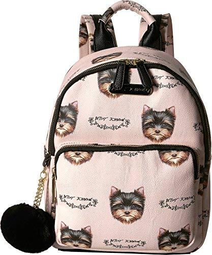 Betsey Johnson Women's Medium Backpack Blush Multi One Size [並行輸入品]   B07K1HHHM5