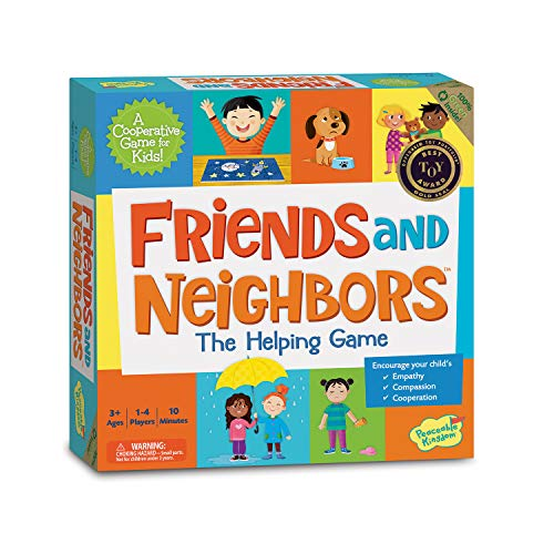 Rhymes Circle Time (Peaceable Kingdom Friends and Neighbors: The Helping Game Emotional Development Cooperative Game for Kids)