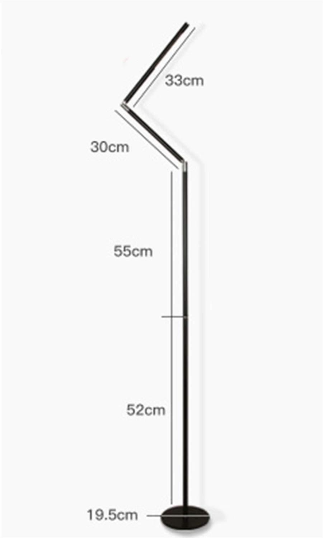 WPQW フロアランプ現代のミニマリストピアノled垂直テーブルランプ充電リビングルームの寝室のベッドロングアームライト -6554フロアスタンドランプ B07Q7VJ7JC