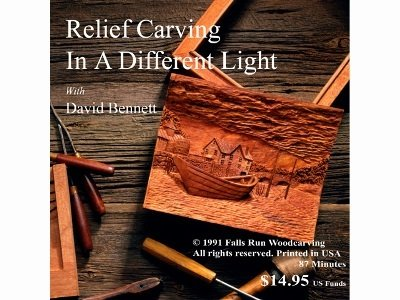 Flexcut Relief Carving, Instructional DVD, by David Bennett, 90 Minutes (FR107) Review