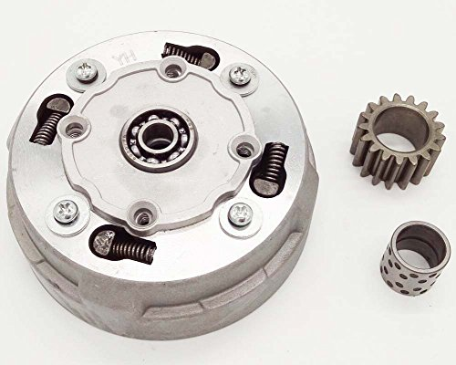 Mx-M 18-Teeth Automatic Clutch Assy for 50cc-125cc ATV,Dirt Bike & Go - Dirt Automatic Clutch Bikes