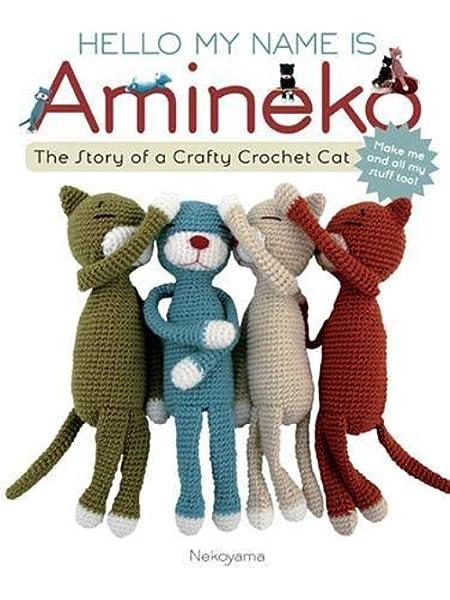 amigurumi cat babies cuddly toy cats birthday gift amineko crochet Crochet toy baby boy and girl gift