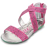 Mandy Romantic Girls Summer Beach Open-Toe Strap Sandal (Toddler/Little Kid/Big Kid)