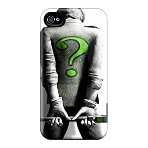 Anti-scratch And Shatterproof Ridler Phone Case For Iphone 4/4s/ High Quality Tpu Case
