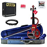 Bunnel Shredder Clearance Electric Violin (Rockstar Red)