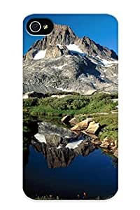 Gzk1070hGPha Inthebeauty Mountains (2) Durable Iphone 4/4s Tpu Flexible Soft Case With Design