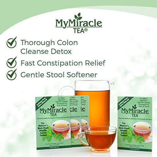My Miracle Tea - Colon Cleanse, Constipation Relief, and All-Natural Detox Tea - 3 Month Supply (Makes 12 Gallons) by My Miracle Tea (Image #2)