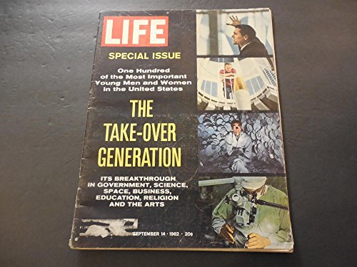 Life Sep 14 1962 Breakthroughs In Government, Science, Space, Business