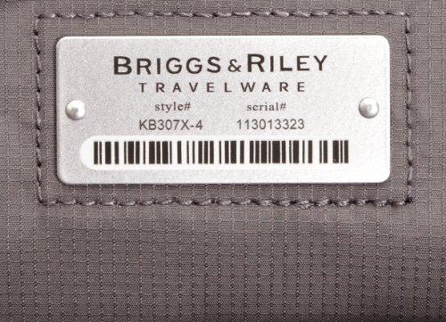 Briggs & Riley @ Work Luggage Large Expandable Brief, Black by Briggs & Riley (Image #6)