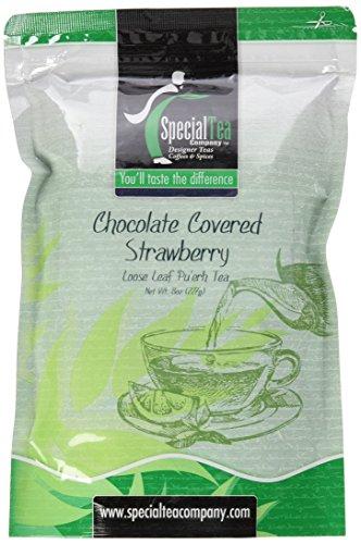 Special Tea Loose Pu'erh Tea, Chocolate Covered Strawberry,8 Ounce