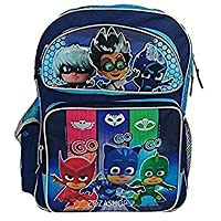 """PJ Masks Large School Backpack 16"""" inches - Brand New with Tags"""