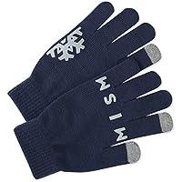 Life is Good W Texting Optimistic Snowf Dstblu Gloves Headwear, Darkest Blue, One Size