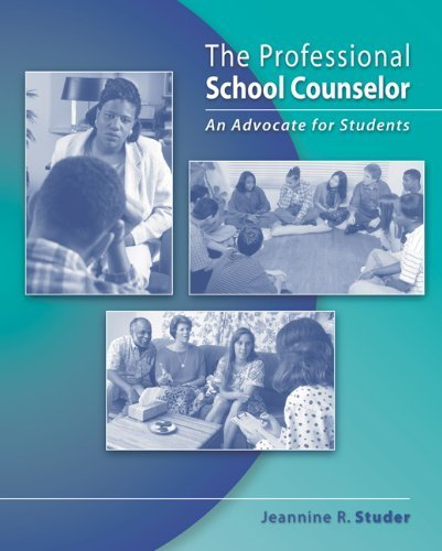 The Professional School Counselor: An Advocate for Students (School Counseling) by Studer, Jeannine R. (August 10, 2004) Hardcover