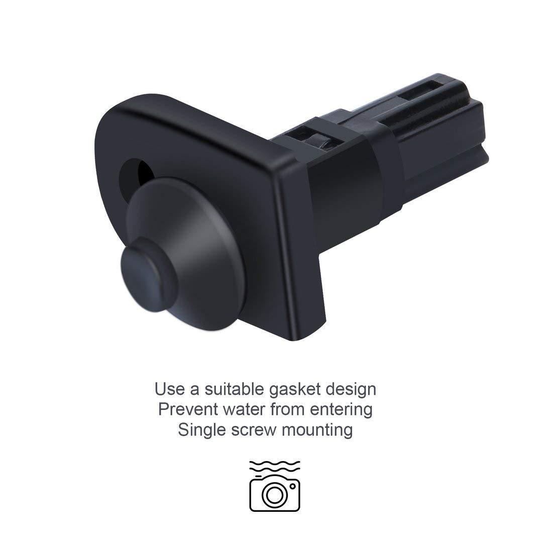 LouiseEvel215 Interruptor de luz de la Puerta Interior de 2 Pines para Mitsubishi Pajero Montero V31 V32 V33 MB698713 Piezas de autom/óviles Accesorios de reemplazo