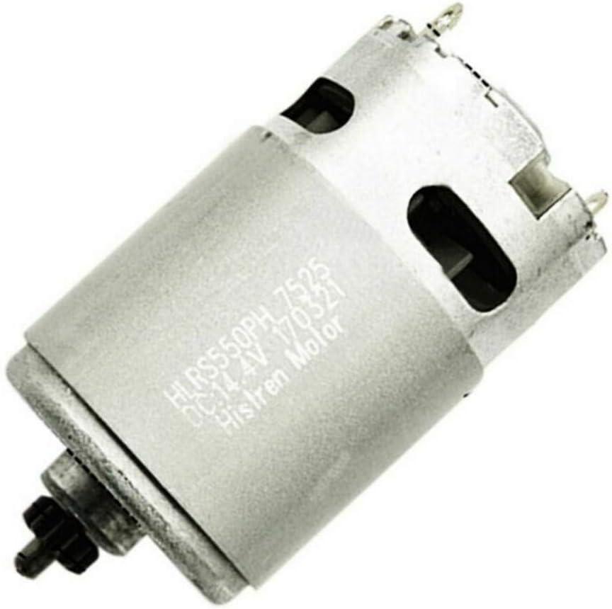 HSKB Motor de repuesto para Schonen 14,4 V 13 dientes compatible con Bosch GSR 14.4-2-li PSR14.4li-2 2 609 199 253 PSR 1440li-2 accesorios