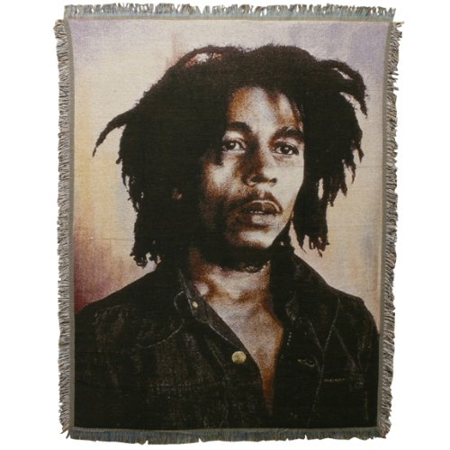 Woven Blankets Photo (Bob Marley - Photo Throw)