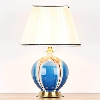 Lámparas de escritorio Lámpara de mesa de cerámica lámpara de ...