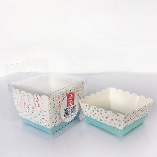 genyi Mini cuadrado papel de horno, horno a 400 °F y congelador ...