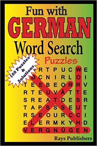 amazon fun with german word search puzzles fun with german word