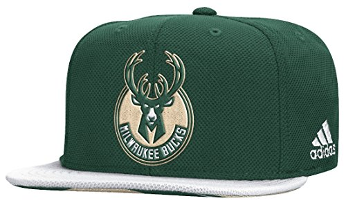 fan products of Milwaukee Bucks Adidas 2015 NBA Draft Day Authentic Snap Back Hat