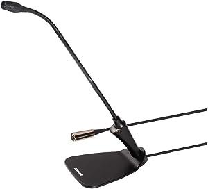 "Shure CVG18D-B/C 18"" Gooseneck Condenser Microphone with Integrated Desktop Base, inch"