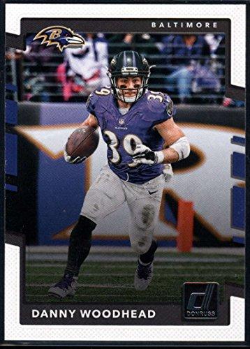 2017 Donruss #254 Danny Woodhead Baltimore Ravens Football Card