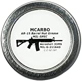 Aeroshell 33ms / MIL-G-21164D / MIL-SPEC Barrel Nut Thread Grease + 1/2oz can: more info