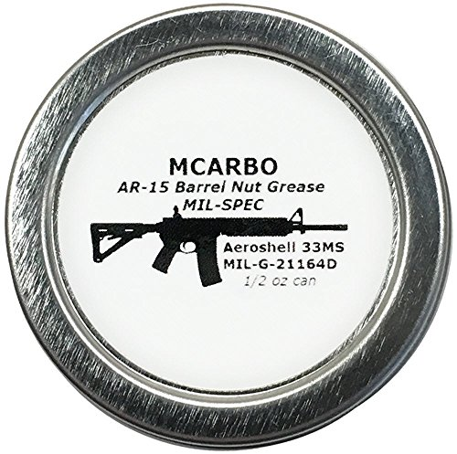 Aeroshell 33ms / MIL-G-21164D / MIL-SPEC Barrel Nut Thread Grease + 1/2oz can (Ar 308 Barrel)