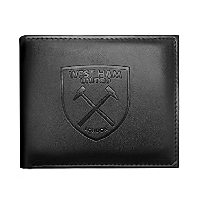 West Ham United FC Official Soccer Gift Embossed Crest Money Wallet