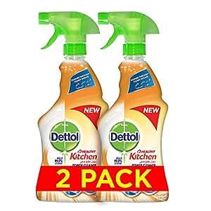 Dettol Healthy Kitchen Power Cleaner Trigger Spray - Orange (2 x 500ml)