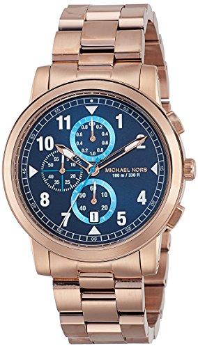 Michael Kors Men's Paxton Rose Gold-Tone Watch MK8550 - Mens Rose Gold Tone Watch