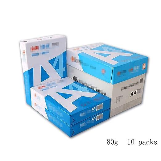 DYFYMX Papel Papel for Impresora láser A4 Papel de ...
