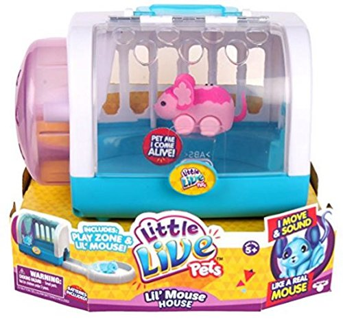 Little Live Pets Lil' Mouse House - Blossom (Blossom Pet)