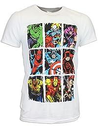 Marvel Mens' Marvel Comics T-shirt