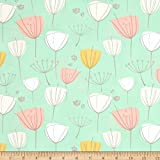 Art Gallery Fabrics Art Gallery Littlest Floral Frolic Fabric by The Yard, Apricot