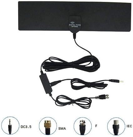 Yongse GF-HDTV006 coche HD antena de TV digital DVB-T antena ...
